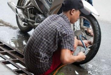 Bơm vỏ xe máy sao cho đúng ?