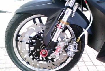 Phanh ( thắng ) đĩa xe máy và những điều cần biết ?