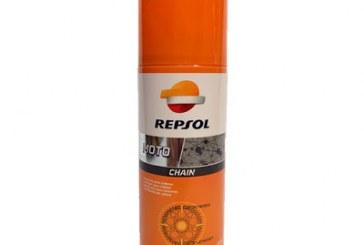 Sỉ và lẻ chai xịt sên Repsol Moto Lube Chain – Tặng kèm áo mưa