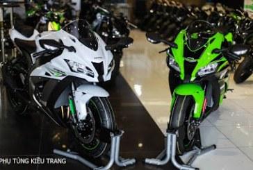 Kawasaki Ninja ZX 10R 2017 đầu tiên về Việt Nam
