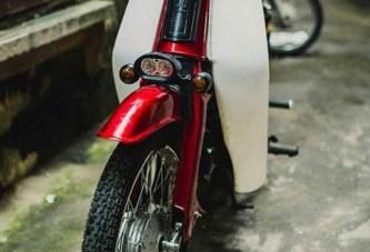 Honda Cub 81 lên đồ chơi đẹp ngút ngàn