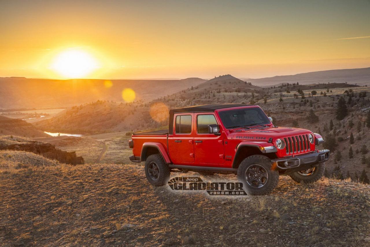 Jeep chính thức công bố thông tin về Gladiator - sự hồi sinh của dòng bán tải mang thương hiệu Jeep