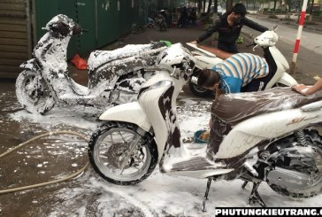 Tư vấn kinh nghiệm mở cửa hàng rửa xe máy cho người mới bắt đầu