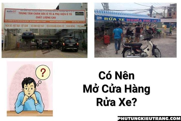 Hướng dẫn mở tiệm rửa xe máy từ A đến Z